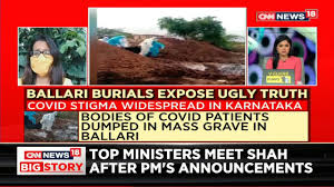 Photo of Covid-19 Victim bodies flung into grave with disrespect