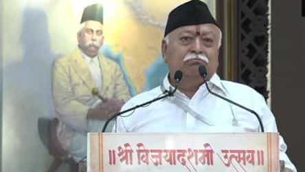 Photo of 'Efforts to reignite anti-CAA protests still continue': RSS chief Mohan Bhagwat in Dussehra address