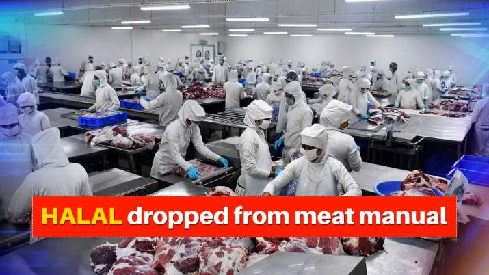 Photo of Govt body drops 'halal' from meat manual