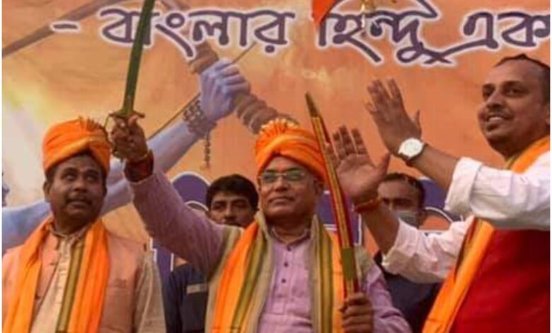 Photo of Revenge before law: BJP's Dilip Ghosh asks Hindu youths to take arms to protect women